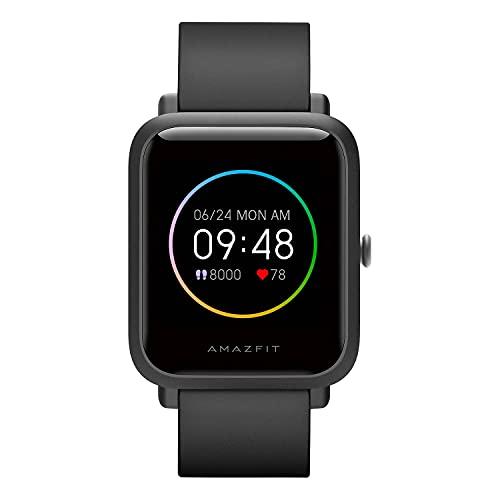Amazfit Bip S Lite Smartwatch Ftiness Reloj Inteligente Deporte Pantalla Transflectiva Siempre Encendida Duración de la batería 30 días Monitoreo del sueño y Frecuencia para Mujer y hombre