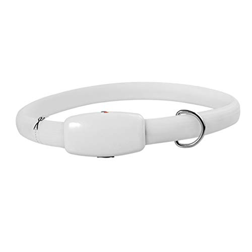 Non-brand Luces de Seguridad para Perros LED, USB Recargables, Brillantes Y Cortables para Perros Pequeños Medianos Grandes