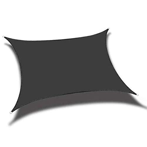 WQL Rechteckiger Schattenschleier 95{dcd08beac28480975936d90ef2ec5102f86c77975b1321b74cdd919f6077025c} UV-Block mit freiem Seil Mehrere Farben und Größen für Patio Garden Beach Canopy Markise-2x2 m # 5