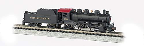 Prairie 2-6-2 Steam Locomotive & Tender - PRR #2765 - N Scale