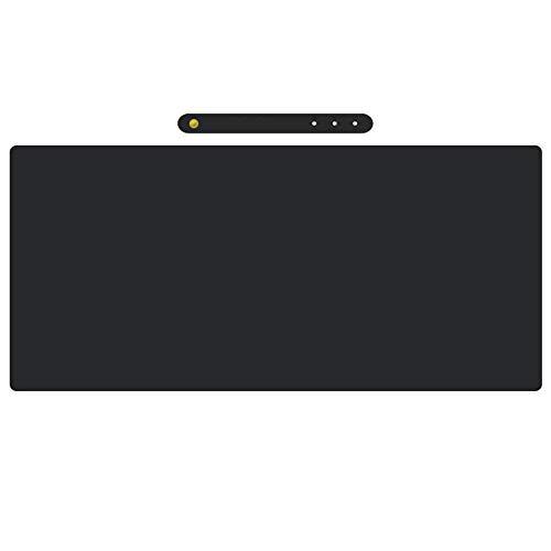 #N/V Alfombrilla de ratón de piel de microfibra impermeable de 80 x 40 cm