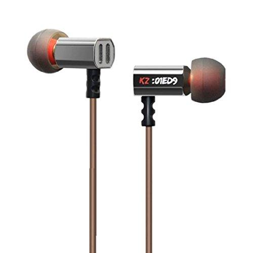 CYCMIA KZ-ED9 Super Bass 3,5 mm in Ear Kopfhörer DJ Kopfhörer Hifi Stereo Earplug Geräuschen Sport Ohrhörer überwachen Kopfhörer für Handy Mp3 Musik (ohne Mikrofon)
