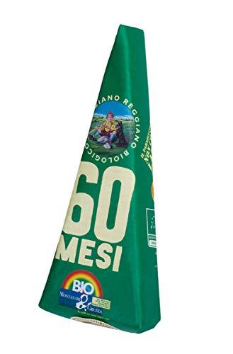 Parmigiano Reggiano Biologico scelto Extra 60 mesi Punta da 0.5 Kg Sottovuoto Incartata