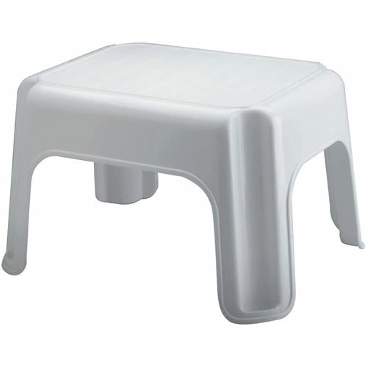 Rubbermaid - Step Stool With Mold Tread, (12.5 x 15.5 x 9.5 in),White,300lbs