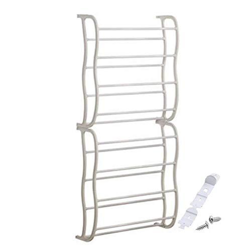 24 pares de ganchos para percheros de puertas ganchos para 8 capas para racks de almacenamiento en rack de almacenamiento en rack de almacenamiento en rack de almacenamiento de espacio de almacenamien