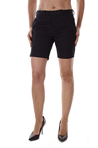Diesel Black Gold Damen Bermuda Shorts Bundfalten (S, Dunkelblau)