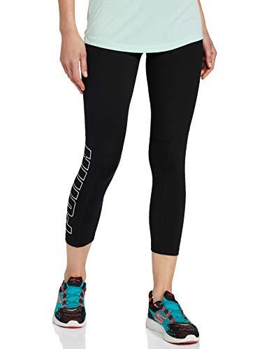 PUMA Damen Leggings Logo Elastic 3/4 Tight, Black, L, 518944