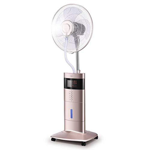 Stile industriale Ventilatori a piantana Ventilatore con nebulizzatore a piedistallo Ventilatore con nebulizzatore a raffreddamento oscillante Display a LED Umidificatore a ioni negativi silenzioso Te