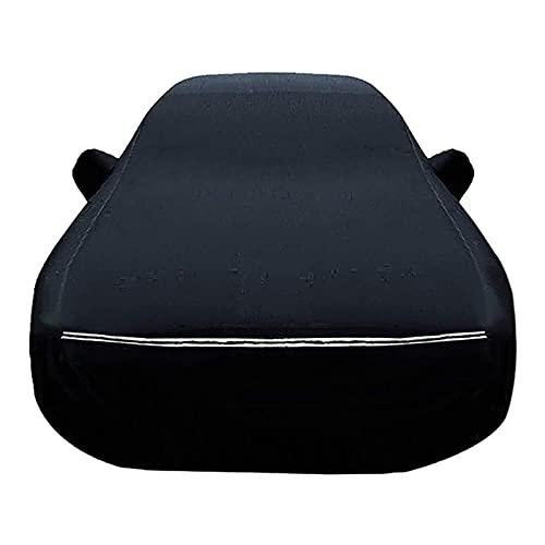 ZYuan Impermeabile Telo Copriauto Compatibile con KIA Shuma Oxford Telo Auto 100% Impermeabile Traspirante AntiGraffio Resistente UV Antipolvere (Color : Black, Size : Shuma)