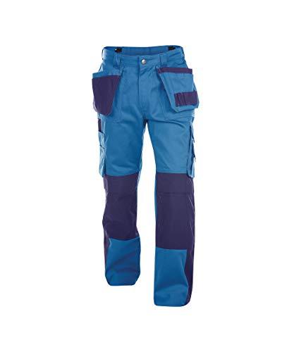 Dassy Unisex-Erwachsener Pantaloni Hose, Bleu/Marine, 46-Entrejambe-Standard (83cm)