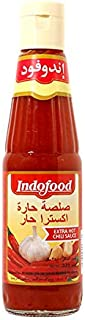 Indomie Extra Hot Chili Sauce, 340 ml (Pack of 1)