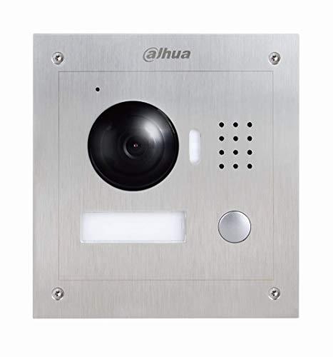 X-SECURITY Videoportero IP - Cámara 1,3Mpx - Visión Nocturna - Audio bidireccional - Monitorización a Través de App Móvil - Acero Inoxidable antivandálico