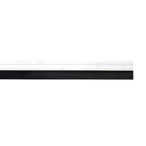 K2Calore KHG12113Bürstendichtung für Tür, selbstklebend, Aluminium, silberfarben