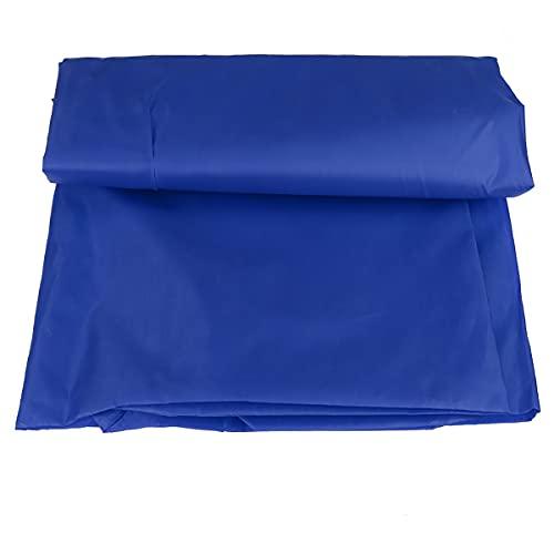 Baijin 3X3M Paño De Tienda Plegable Al Aire Libre 3 Paredes Laterales Impermeable A Prueba De Lluvia Paño De Tienda Gazebo Panel Lateral Apto Mayoría De Las Tiendas De Campaña Gazebo Blueoneside