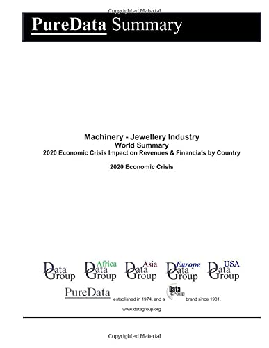Machinery - Jewellery Industry World Summary: 2020 Economic Crisis Impact on Revenues & Financials by Country