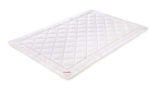 PARADIES kühlende Sommerbettdecke Cool Comfort Bio 135 x 200 cm Steppdecke, Öko-Tex Zertifiziert Standard 100 Klasse 1, medizinisch getestet