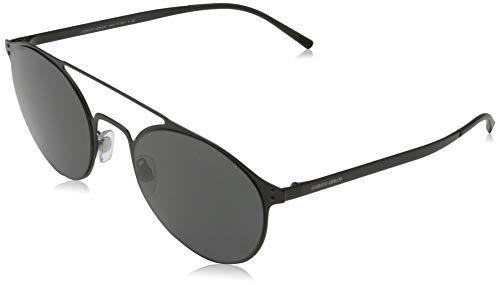 Giorgio Armani 0AR6089 Gafas de sol, Matte Black, 54 para Hombre