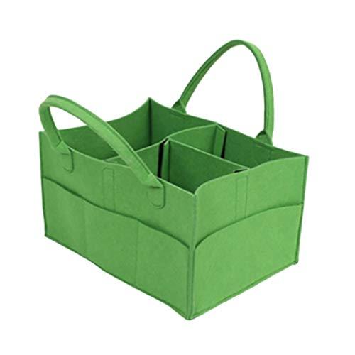LVL Babywindel-Aufbewahrungskorb Baby-Windel-Caddy Organizer Portable Storage Basket - Essential Tasche for Nursery Wickeltisch und Auto