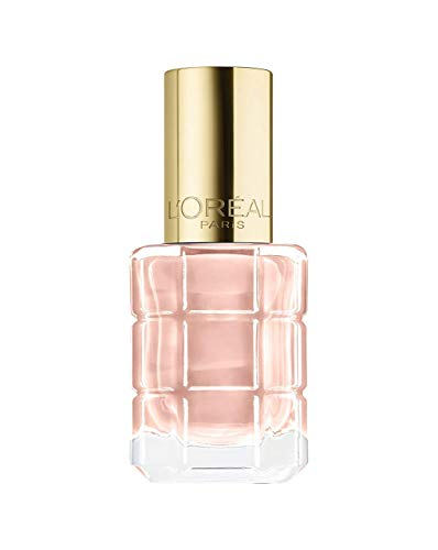 L'Oréal Paris Color Riche Le Vernis nagellak met olie in kleurlak in helder rosé met glanzend effect 13,5ml 116 Café de Nuit