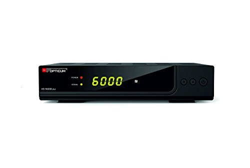 Opticum HD AX300 Plus PVR HDTV-Satellitenreceiver (PVR ready, Full HD 1080p, HDMI, USB, S/PDIF CoXial, Scart) schwarz