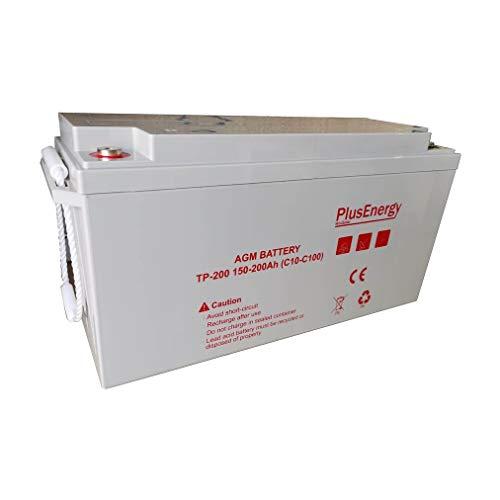 Batería solar GEL 200Ah 12 v PlusEnergy TPG12-200 BATERIAS PARA DESCARGA PROFUNDO