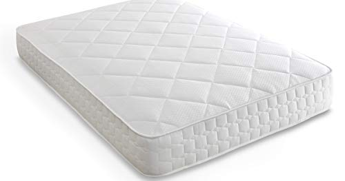 Mattress-Haven 9-Zone Pocket Sprung Mattress with Memory Foam and Quilted Fabric Medium Firm Feel4FT6 - Double