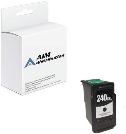 AIM Compatible Replacement for Canon PG-240XXL Black Extra High Yield Inkjet (600 Page Yield) (5205B001AA) - Generic