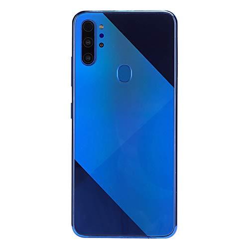 Art mirror MIQOO M80 Blue Metal Fingerprint Face Unlock 6,7-Zoll-Drop-Screen Dual-Karten Dual-Standby-Smartphone, 6 + 64G 100-240 V-Preis Britannique