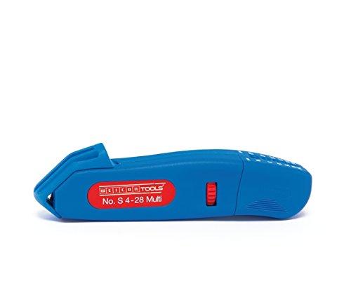 WEICON TOOLS Kabelmesser No. S 4-28 Multi / mit Abisolierfunktion im Gehäuse