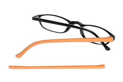 Templesox unisex-adult Brillen Sleeves Orange Crush Klein