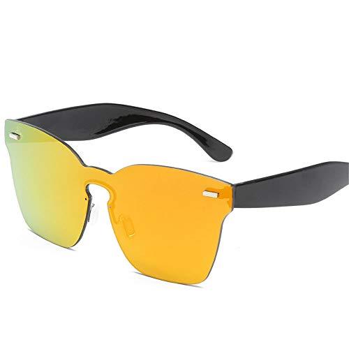 MJ Glasses Sonnenbrillen Integrierte Ocean Tablet für Frauen, Rahmenlose Brillen, B