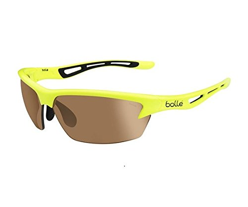 bollé Bolt Gafas de Sol Deportivas, Unisex, Amarillo neón