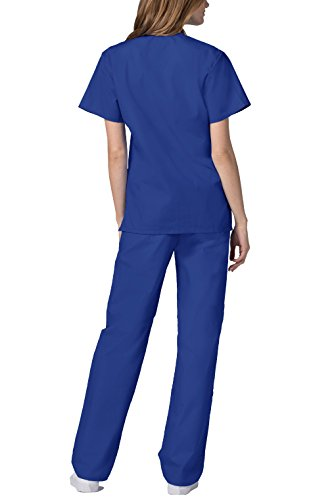 Adar Universal Medical Scrubs Set Medical Uniforms – Unisex Fit – 701 – RYL -2X - 5