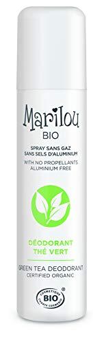 Marilou Bio - Déodorant Spray Thé Vert - Déodorant Bio Sans Alcool de la Gamme Classic - Déodorant pour Homme/Femme au Parfum Subtil et Délicat - Fabr