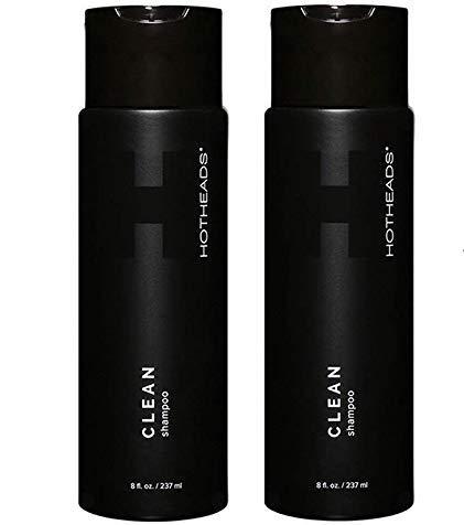 ◆高品質 HOTHEADS Clean Shampoo 8 激安通販 oz PACK OF Skin Car FREE 2 Hair +