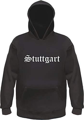 HB_Druck Stuttgart Hoodie Kapuzensweatshirt M Schwarz