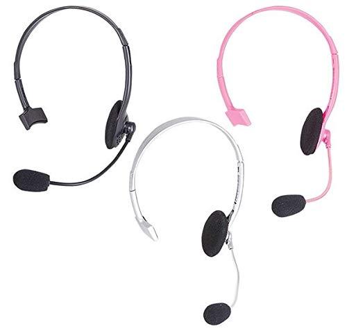 Pop Star Rapper Headset Microphone Prop Only, Black, 1 per Order