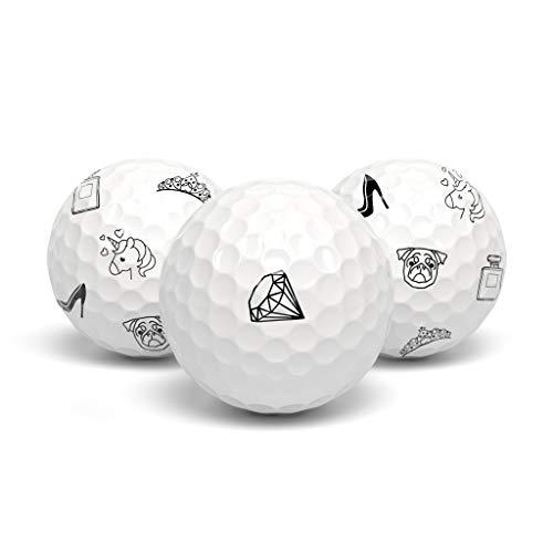 tageez Next Generation Premium Golfballmarkierer - Golfballmarker - Golfball Marker - Magische Ball Markierer ohne Hilfsmittel Golferin und Golfer - 36 Stück für Frauen