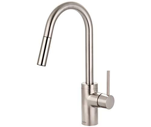 Pioneer 2MT260-BN Motegi Single Handle Pull-Down Kitchen Faucet in Brushed Nickel