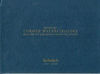 Important Turner Watercolors from the Guy and Myriam Ullens Collection (4 Jul 2007)