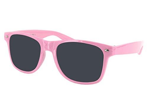 Alsino Farbige Retro Atzen Sonnenbrille V-816F (V-816F rosa)