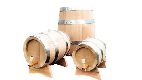 Barriles de madera de roble de 30 l barriles de vino barriles de whisky, roble