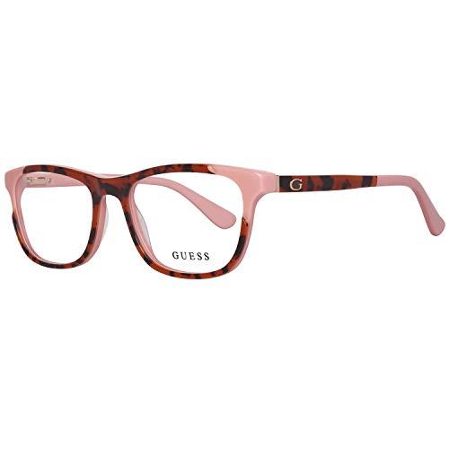 Guess GU2615 52074 Guess Brille GU2615 52074 Rechteckig Brillengestelle 52, Rot