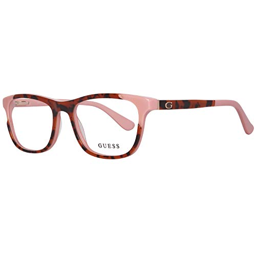 Guess Brille Gu2615 52074 Montature, Rosso (Rot), 52.0 Donna