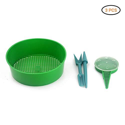Rapoyo Outil de Distribution Vert de semoir de semoir de semoir de graines, Distributeur de graines pour Serre de Jardin de Pot de Fleur de Jardin