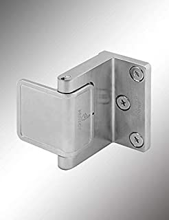Cal Royal Hotel Privacy Door Latch, US26D Finish - Security for in-Swinging Doors