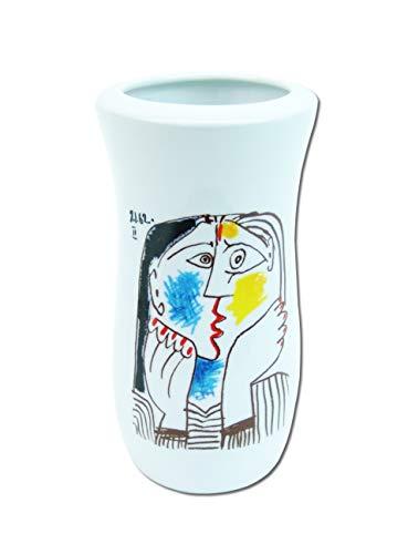 Tognana Pablo Picasso Porzellan Vase Blumenvase Téte Appuyée sur Les Mains II 1962