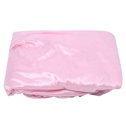 Falda de mesa de tul rosa, segura e inofensiva decoración de boda cubierta de mesa falda de mesa para bebé niña ducha decoración para decoración de mesa de postre