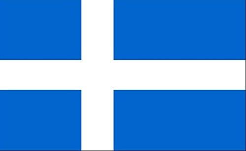 45,7x 30,5cm (45x 30cm) Shetland Inseln Shettys Ärmeln Boot Höflichkeit 100% Polyester Material Hand Waving Flag Banner Ideal für Pub Club Schule Festival Business Party Dekoration