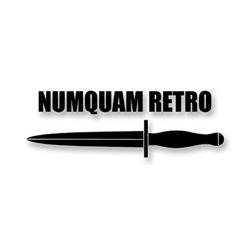 NuMQUAM Retro mes Dolch FschJgBtl 261 Commando Companie 20x7cm #A4711